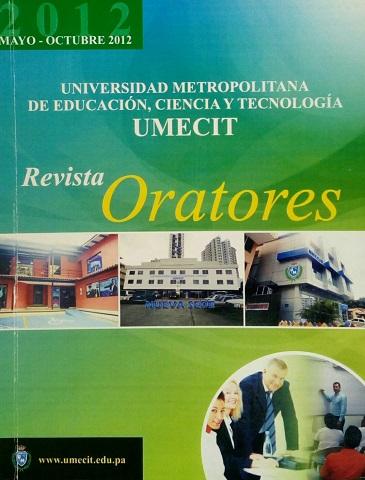 Revista Oratores - No. 1 - Mayo Octubre de 2012