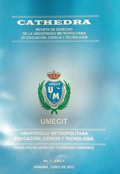 Cathedra No. 1 Año 1 - Junio 2012