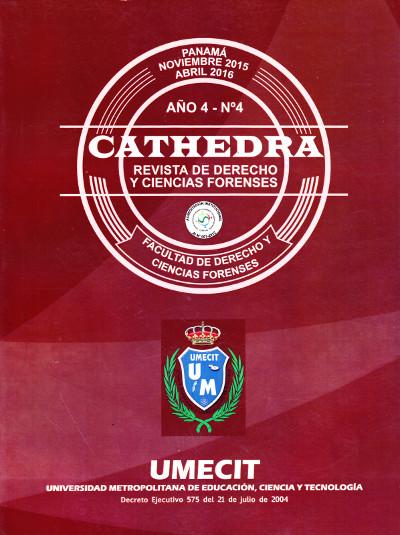 Cathedra No. 4 Año 4 - Noviembre 2015 - Abril 2016